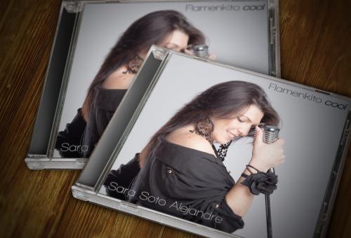 Fotografia y diseño de ultimo disco de Sara Soto
