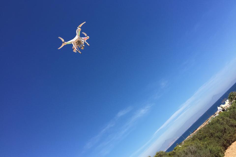 Fotografía Aérea con drones phantom tomas