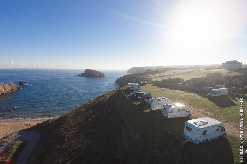 Fotografía Aérea con drones playa de armia aerial